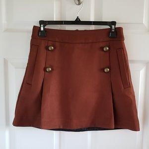 Express Fall Mini Skirt Sz 4